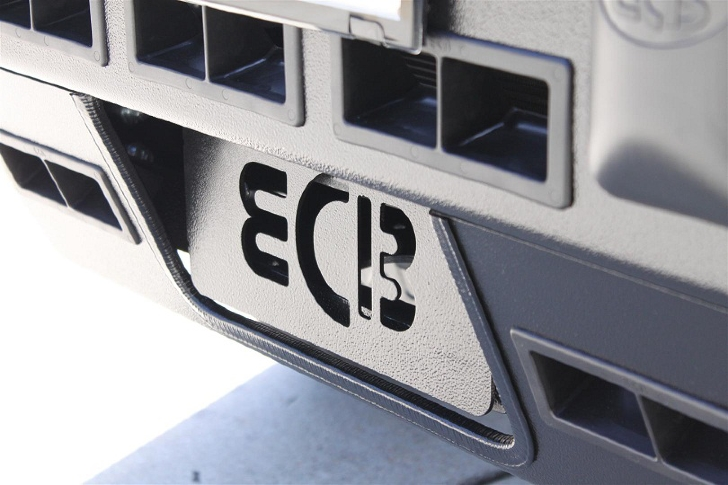 EVO 2000 WINCH MOUNT COVER PLATE (code: AWCP01)