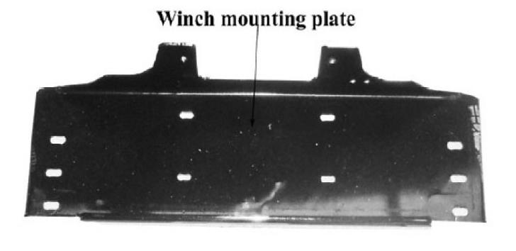 TOYOTA LANDCRUISER 100 SERIES 9,000lb Winch Mounting Kit (04/98 to 10/07)