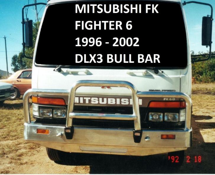 Deluxe 3 Bullbar (code: B3FU0031SY)