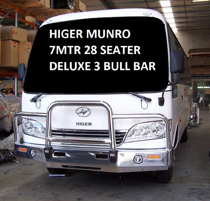 HIGER MUNRO  HIGER MUNRO 7M 29 SEATER 12- DLX3 MFG (2012 to )