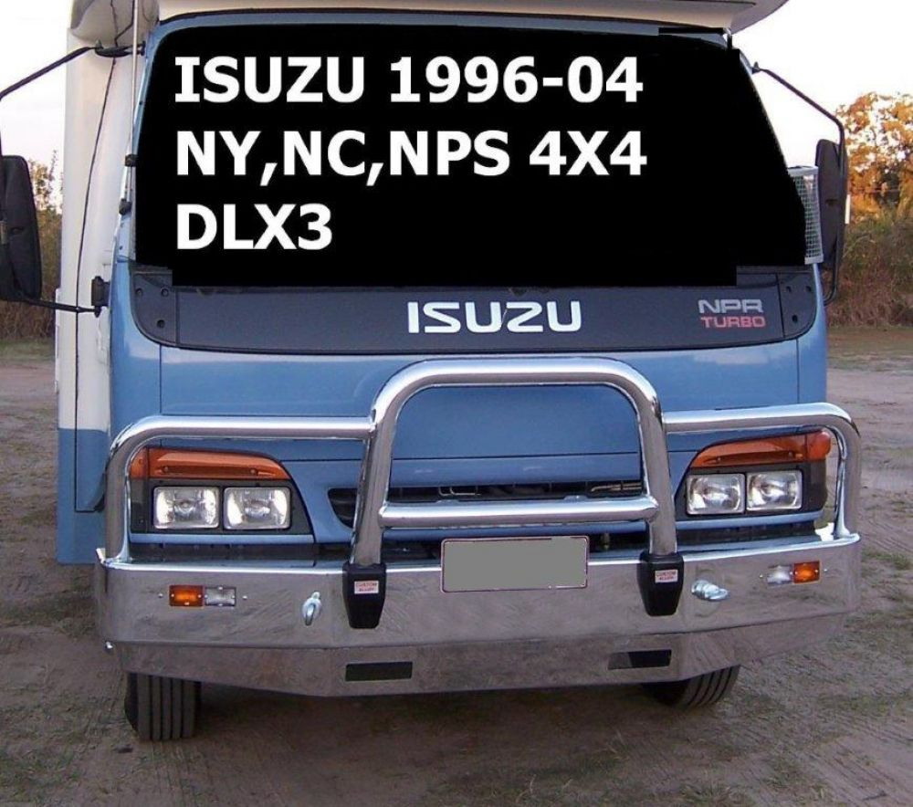 Deluxe 3 Bullbar with Towpin (code: B3IS0854TSY)