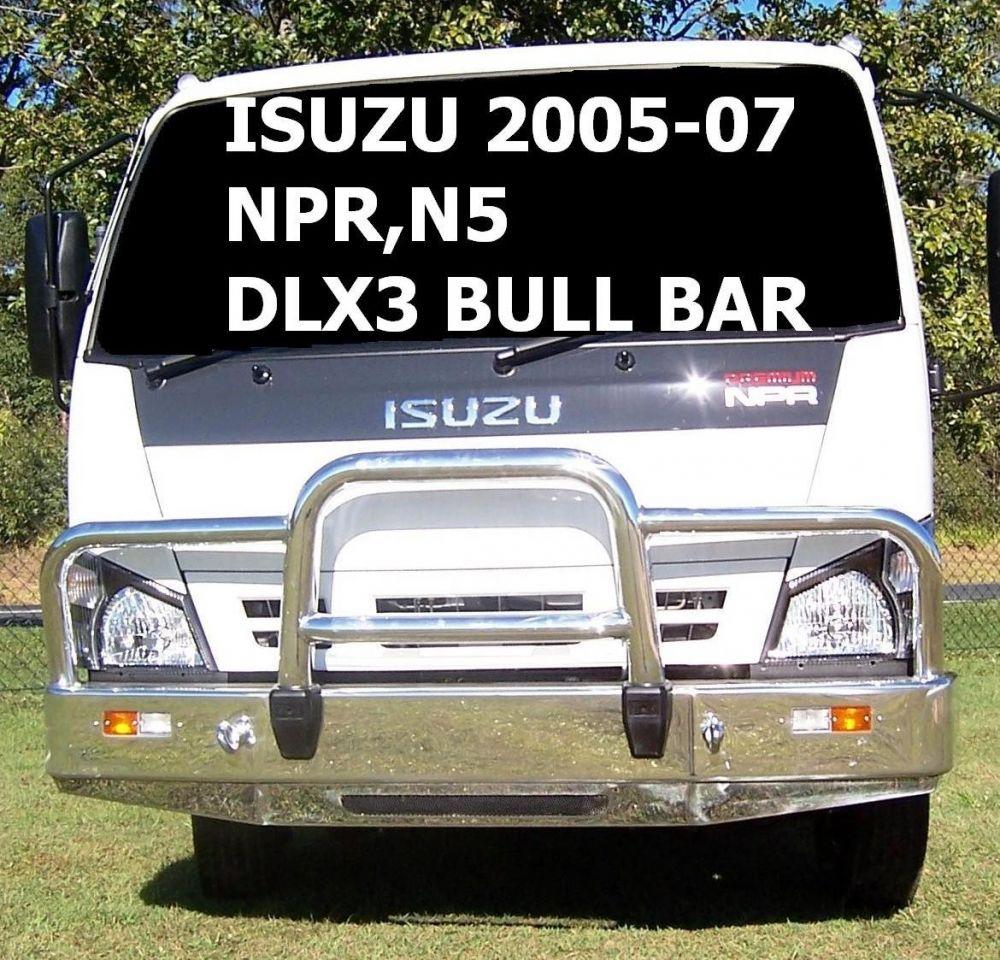 Deluxe 3 Bullbar (code: B3IS0931SY)