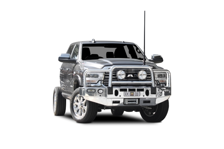 Winch Compatible Big Tube Bar® with Bumper Lights (code: BDO101SY)