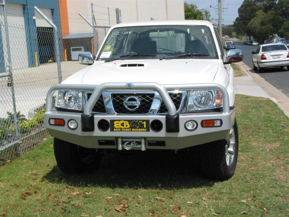 Big Tube Bar® Winch Compatible with Bumper Lights (code: BN38SY)