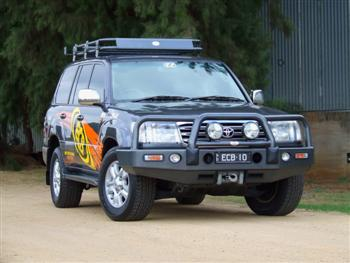 Big Tube Bar® Winch Compatible with Bumper Lights (code: BT85SY)