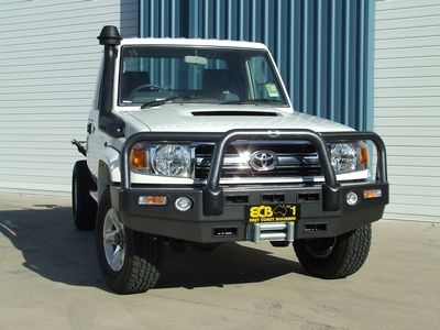 Big Tube Bar® Winch Compatible with Bumper Lights (code: BT96SY)