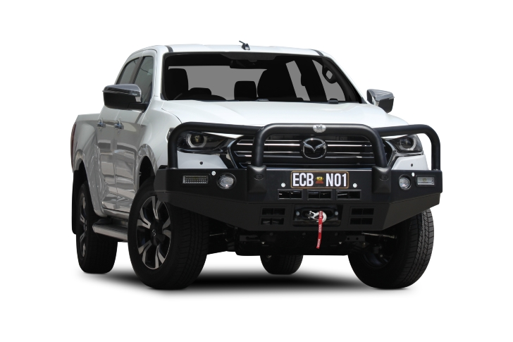 Mazda BT-50 Winch Compatible Big Tube Bar ® (code: EAMA57SY)