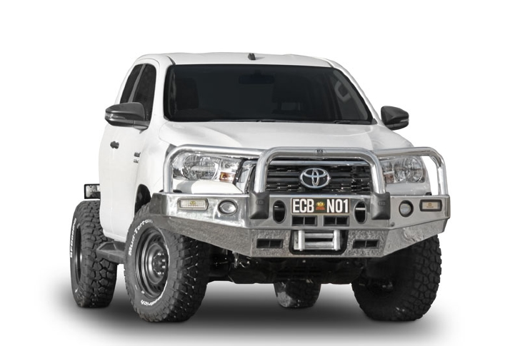Big Tube Bar® Winch Compatible with Bumper Lights (code: EAT219SY)