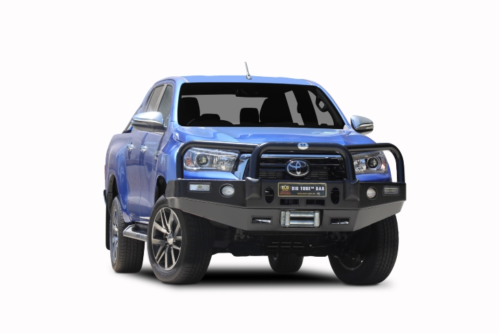 Big Tube Bar® Winch Compatible with Bumper Lights (code: EAT222SY)