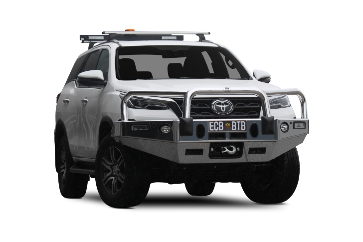 Toyota Fortuner Winch Compatible Big Tube Bar® (code: EAT233SY)