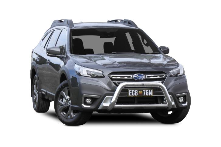 Subaru Outback 76mm Nudge Bar (code: NBS102SY)