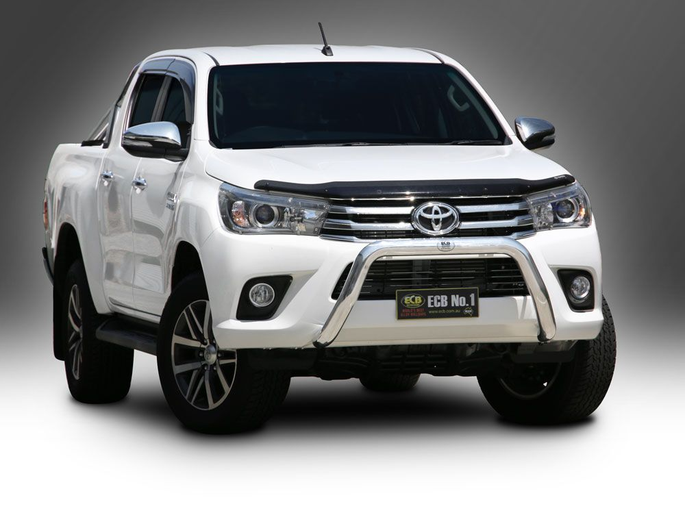 TOYOTA HILUX WORKMATE 76mm Nudge Bar (06/18 to 04/19)