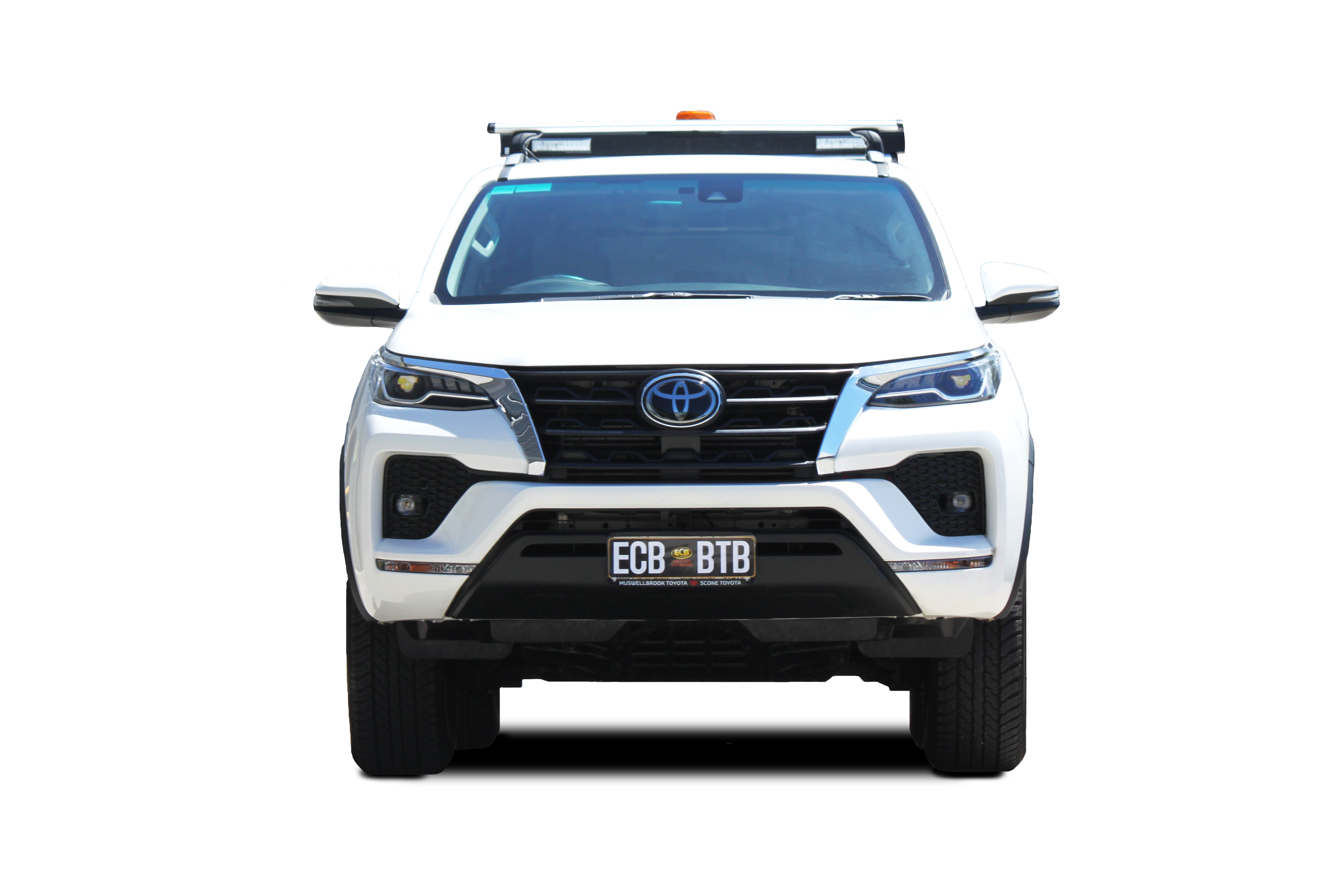 TOYOTA FORTUNER  Toyota Fortuner Winch Compatible Big Tube Bar® (06/19 to )